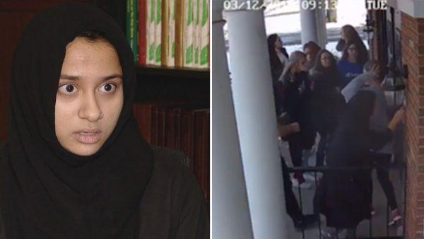 أمريكا.. إشادة واسعة بطالبة مسلمة أنقذت حياة زملائها أثناء إطلاق نار