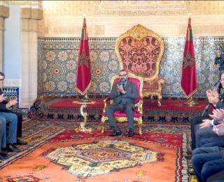 الملك يترأس حفل تقديم البرنامج المندمج لدعم وتمويل المقاولات