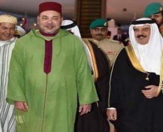 لقاء ودي بالرباط بين الملك محمد السادس والعاهل البحريني