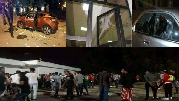طنجة ..إصابات وخسائر مادية وأسلحة بيضاء واعتقالات في أحداث شغب