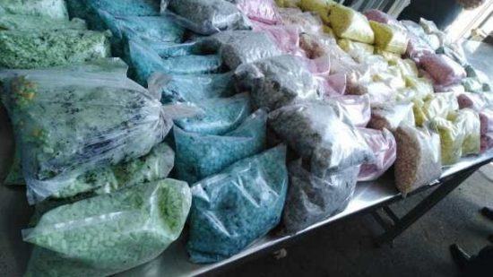 الرباط …5520 قرص طبي مخدر من أنواع مختلفة داخل سيارة مكتراة
