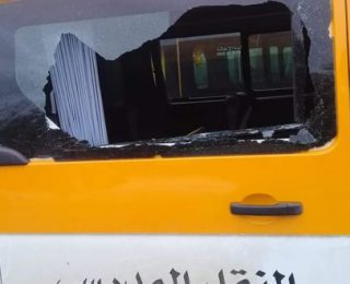 بني ملال ..الأمن يوضح حقيقة الهجوم على سيارة للنقل المدرسي