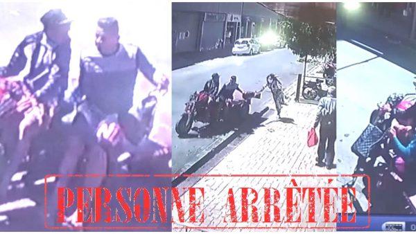 توقيف أحد المتورطين في سرقة بواسطة دراجة نارية بالقنيطرة