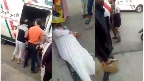تاونات…الأمن يوضح : إغماء سيدة كان بسبب عرقلة اعتقال إثنين من أبنائها
