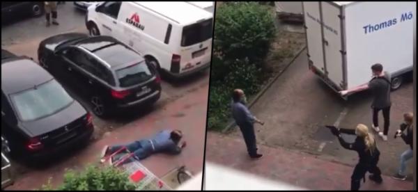 بالفيديو : مقتل مغربي من بن سليمان برصاص الأمن الألماني ، ومنضمة حقوقية تدخل على الخط