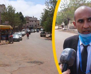 داروها زوينة .. السلطة تخلي شارع الحرية بالمحمدية بعدما كان محتلا من الباعة الجائلين