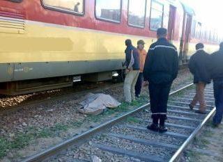 الدارالبيضاء ..انتحار شخص  تحت عجلات القطار