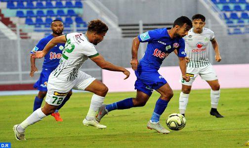 تعادل سلبي بين فريقي الدفاع الحسن الجديدي وفريق الرجاء البيضاوي