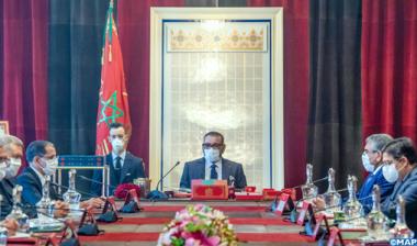 صاحب الجلالة الملك محمد السادس يترأس بالقصر الملكي بالرباط، مجلسا وزاريا.