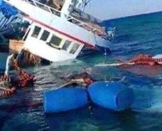 اختفاء مركب للصيد كان على مثنه 12 بحارا واحتمال غرقه