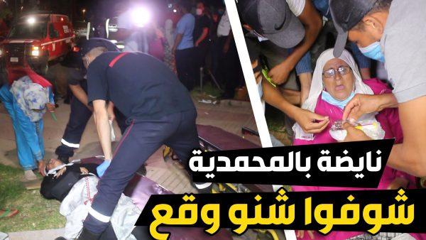 نايضة بالمحمدية فهاد الليل .. السلطة تتدخل لفض اعتصام الباعة الجائلين امام العمالة