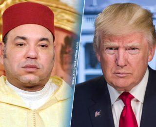 ترامب في رسالة للملك محمد السادس : يسعدني العمل إلى جانبكم بصفتكم رائدا إفريقيا وعربيا !