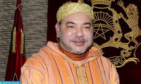 برقية تهنئة من جلالة الملك إلى رئيس الجمهورية القرغيزستانية بمناسبة عيد استقلال بلاده