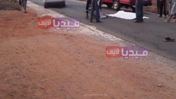 المحمدية .. بالصور : جريمة قتل أم حاذثة سير ؟، العثور على جثة في الطريق