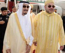 برقية تهنئة من الملك محمد السادس إلى العاهل السعودي وولي عهده