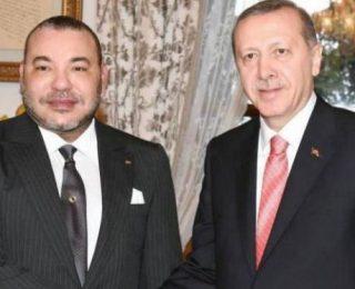 """الملك في برقية  لأردوغان: """"نقدر أواصر الأخوة والصداقة التي تجمع شعبينا"""""""