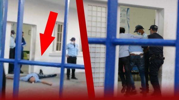 """نايضة بمستشفى مولاي عبد الله بالمحمدية .."""" سكيريتي """"ضرب سائق سيارة اسعاف خاصة"""