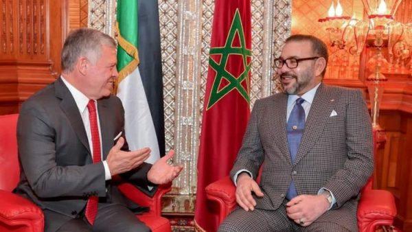 الملك عبد الله الثاني يتصل بالملك محمد السادس معلناً فتح قنصلية بالعيون ودعم الأردن الكامل للمغرب