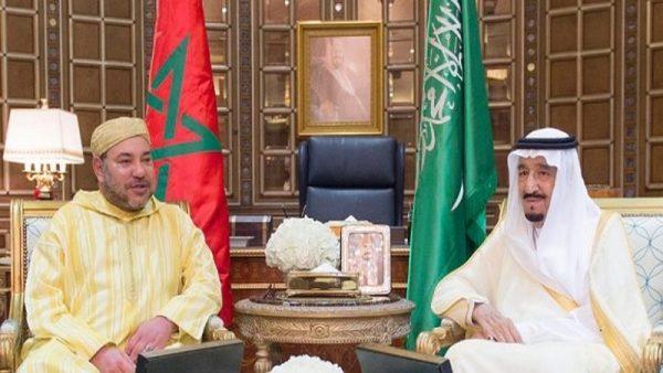 الملك  محمد السادس يبعث برقية إلى الملك سلمان بن عبد العزيز