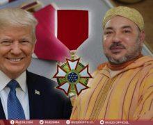 ترامب يمنح الملك محمد السادس وسام الإستحقاق الأمريكي أرفع أوسمة الشخصيات الأجنبية