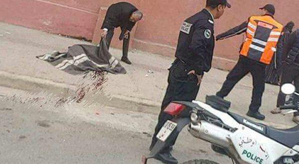سلا …الأمن  يفك  لغز جريمة  مقتل شاب  كان  تضهر على جتته آثار للعنف