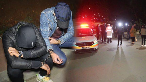 اولى اعتقالات ليلة رأس السنة2021 … لقاوهم سكرانين بالمحمدية