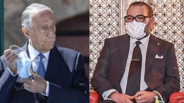 جلالة الملك محمد السادس يتمنى الشفاء لرئيس الجمهورية البرتغالية