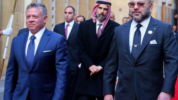 الملك محمد السادس يتصل بالعاهل الأردني ويؤكد له دعم المغرب لسيادة وأمن الأردن