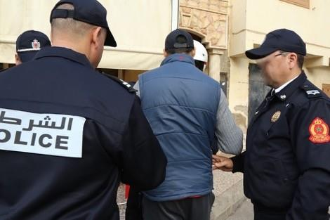 البرنوصي ..بعد فراره لمدة سنتين ، إلقاء القبض على الشحص الذي طعن عون سلطة