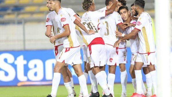 الوداد البيضاوي يمطر فريق شباب المحمدية بأربعة أهداف نظيفة