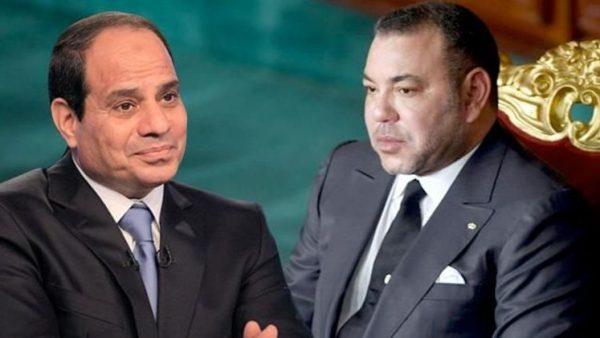 الملك محمد السادس يهنئ السيسي بهذه المناسبة
