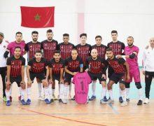 فريق شباب المحمدية لكرة القدم داخل القاعة في نهائي كأس العرش