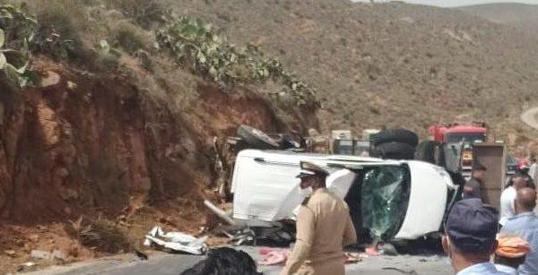 مصرع شخصين وإصابة خمسة آخرين بجروح في حادثة سير ضواحي سيدي إفني