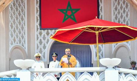 بلاغ لوزارة القصور الملكية والتشريفات والأوسمة بخصوص احتفالات عيد العرش