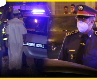 بحضور ليوتنان كولونيل الدرك الملكي .. اعتقالات وغرامات في حق مخالفي حالة الطوارئ بالمحمدية