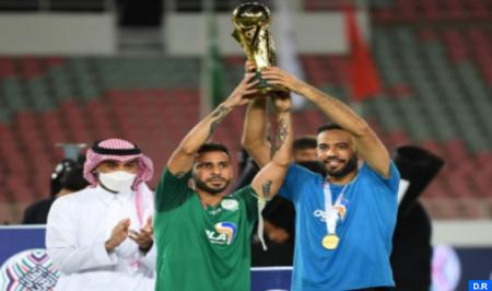 الرجاء الرياضي يحرز لقب كأس محمد السادس لأندية الأبطال  بتفوقه على اتحاد جدة