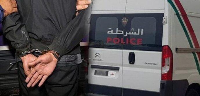 المحمدية …الأمن يعتقل قاتل مروج المخدرات