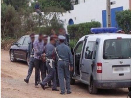 """المحمدية …الدرك الملكي يفككك عصابة إجرامية  مختصة في سرقة المواطنين بواسطة """" الفيسبوك """""""