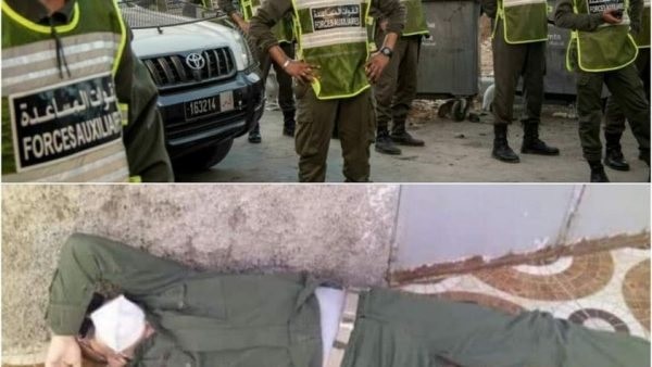 طنجة …عملية هدم  منزل عشوائي تنتهي بوفاة قائد فرقة للقوات المساعدة