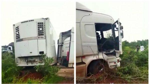 مسلحون يقتلون سائقي شاحنتين  ويصيبون آخر بجروح بدولة مالي ( فيديو )