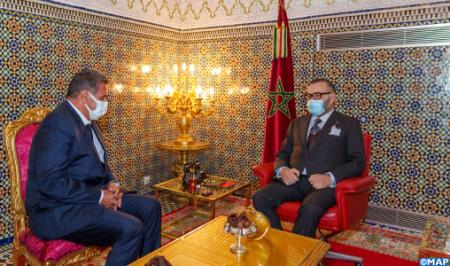 جلالة الملك يعين السيد عزيز أخنوش رئيسا للحكومة ويكلفه جلالته بتشكيل الحكومة الجديدة