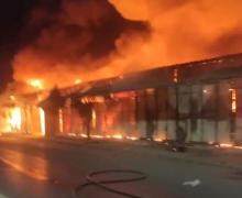سلا …بعد يوم تقريبا، الوقاية المدنية تسيطر على النيران نهائيا